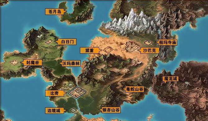 今日新开传奇中比较受欢迎的游戏地图
