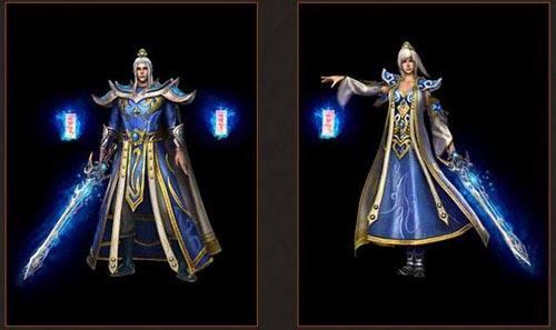 轩辕传奇中战士和道士的区别