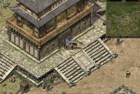 lp仿传奇单机版游戏中攒泉水和开宝箱攻略