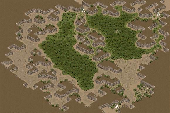 盛大传奇3地图最危机的一片荒野——赤月洞