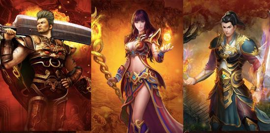 传奇游戏中玩家必争的三大地图